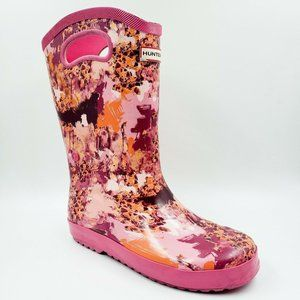 Hunter For Target Pink Abstract Tall Rainboots 4